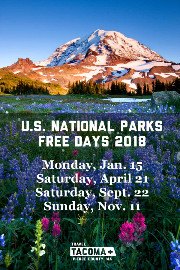 Mount Rainier Free Days 2018
