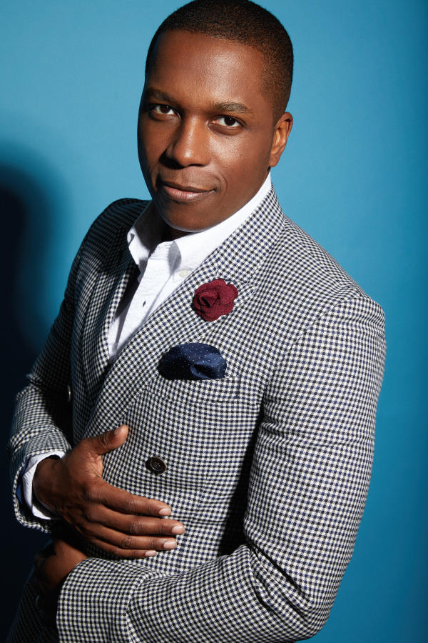 Leslie Odom, Jr., with the Fort Wayne Philharmonic