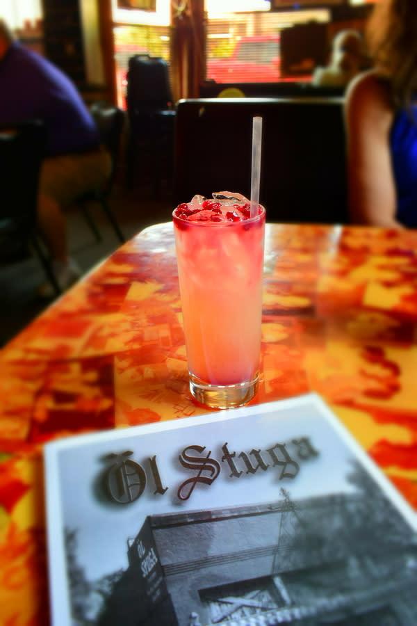 Ol' Stuga Restaurant Lemonade in Lindsborg, KS