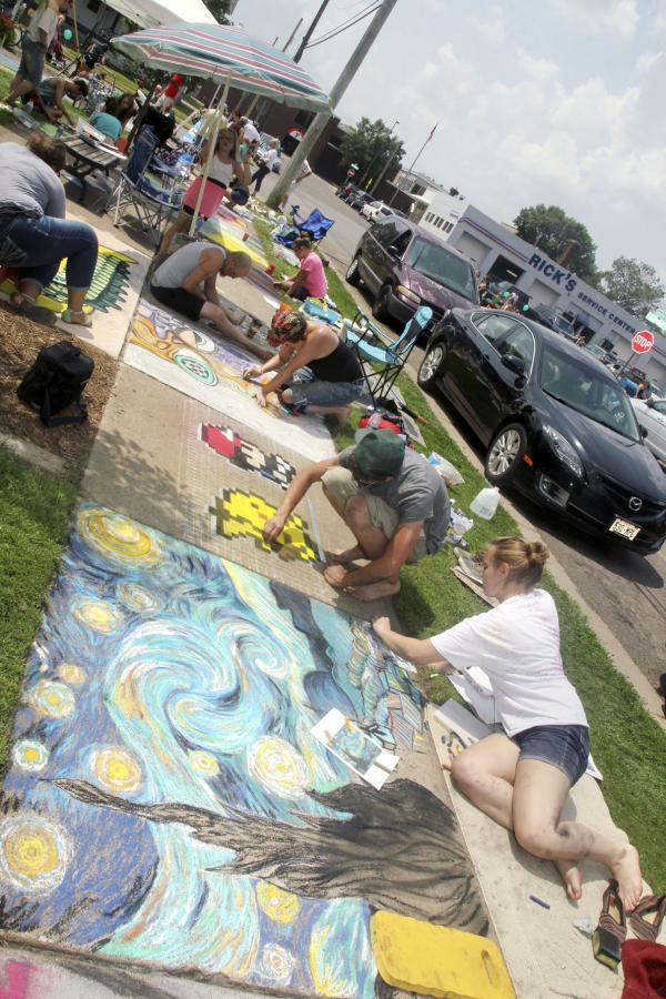 ChalkFest Photos by: Andrea Paulseth