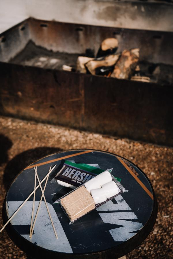 Texican Court smores kit