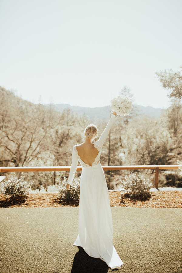BHLDN in Napa at Calistoga Ranch Wedding