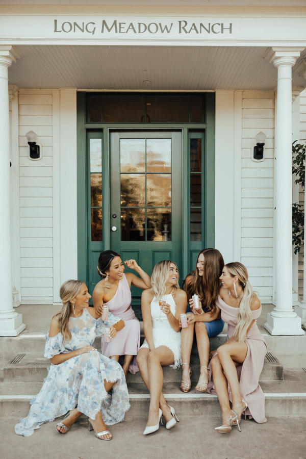 BHLDN in Napa Long Meadow Ranch Wedding