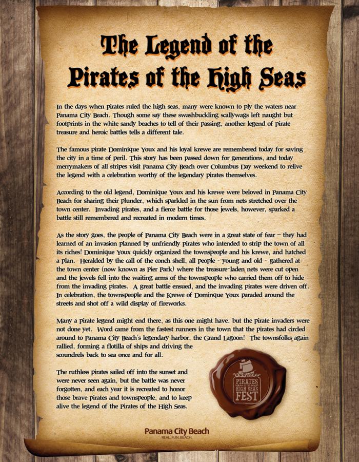 Pirates of the High Seas Fest Panama City Beach Florida