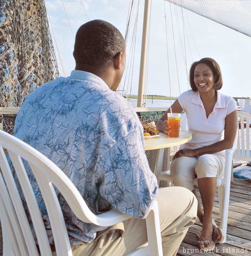 Outdoor Dining in North Carolina's Brunswick Islands