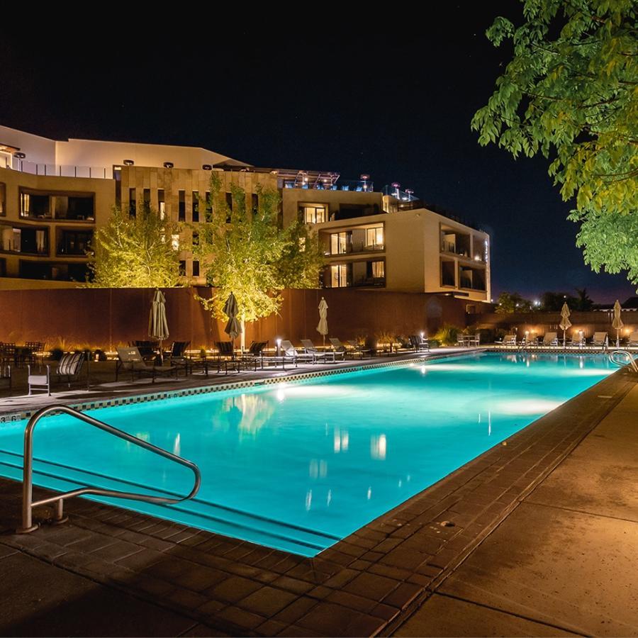 Hotel abq pool