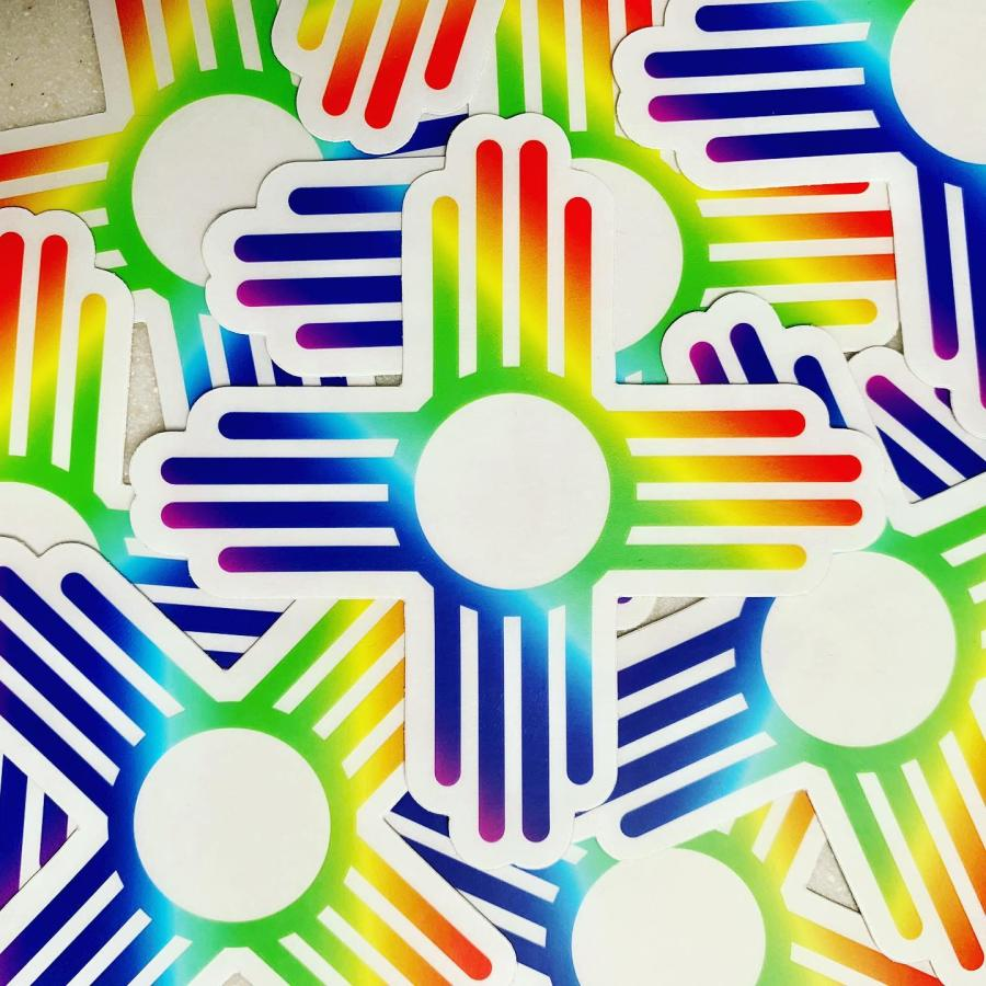 Rainbow Zia Stickers Brotique 505