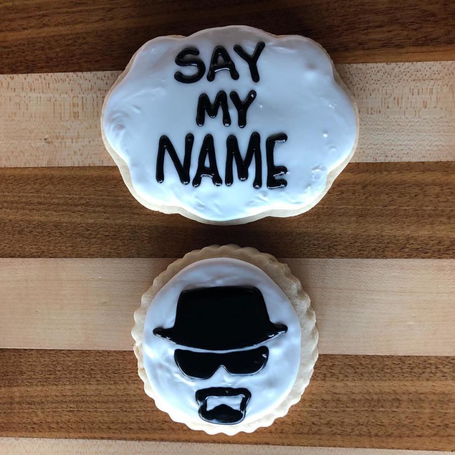 Rude Boy Cookies Breaking Bad Cookie