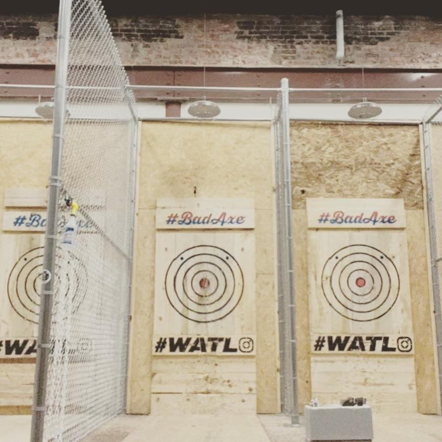 Axe Targets At Bad Axe
