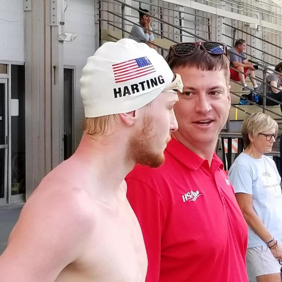 Webber and Harting HSA Swim