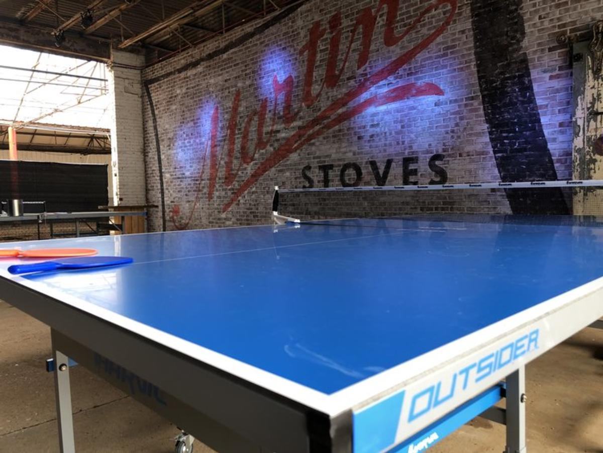 Stovehouse ping pong