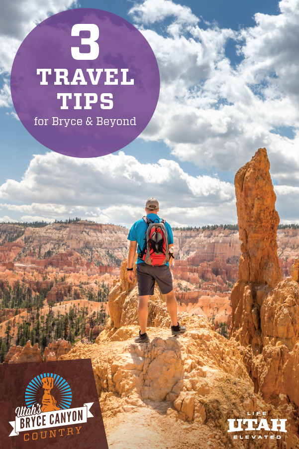 There is so much more beyond Bryce Canyon National Park, we want to tell you all about it. Here are three tips to keep in mind when coming to the area this summer.