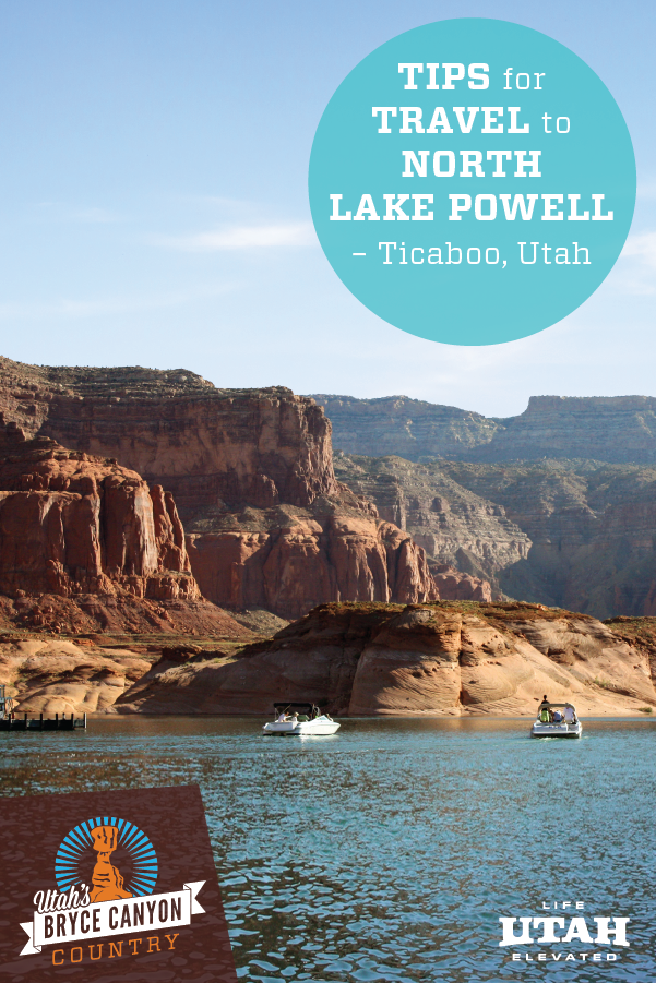 Ticaboo is a small town to the North of Lake Powell. Here are 5 travel tips for making Ticaboo your basecamp for adventure. Try hiking, biking, ATV riding, boating and more!