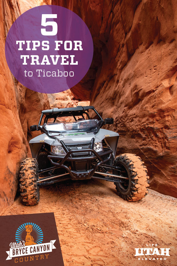 Looking for a road trip for the family? Ticaboo, Utah is the ideal place with nearby Lake Powell. With comfy places to stay, fresh food to eat and endless activities, you'll love the rest and relaxation this destination offers. Try hiking, biking, ATV riding, boating and more. Rental available with local outfitters.