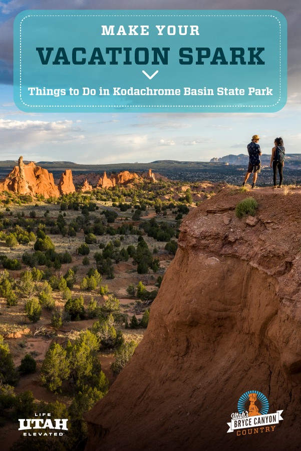 As much as people can fall in love with each other, they can also fall in love with destination views and scenic horizons as well. Make your vacation spark and do these things in Kodachrome Basin State Park to truly fall in love with this part of Southern Utah, near Bryce Canyon National Park.
