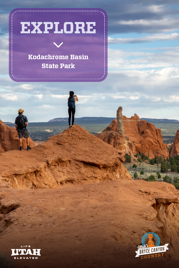 Kodachrome Basin State Park, near Bryce Canyon National Park in Southern Utah, has many unique adventures worth experiencing. Try active activities such as horseback riding, hiking, and biking, or calming activities like stargazing and photography. No matter what you do, you'll want to stay the weekend here.