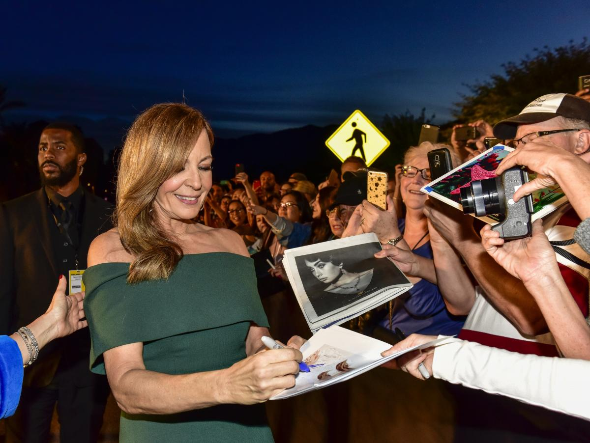Celebrities Signing Autographs for Fans