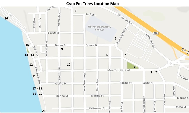 Crab Pot Tree Map 2019