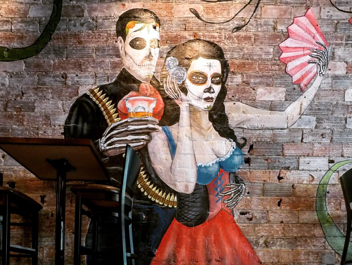 Mural at Hefe Rojo in Rochester, MN