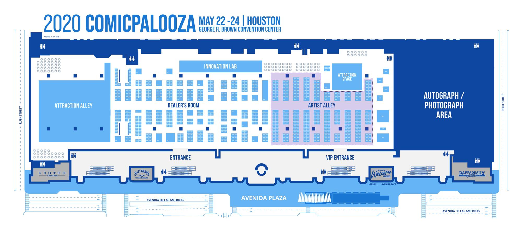 CP2020 Exhibitor Map