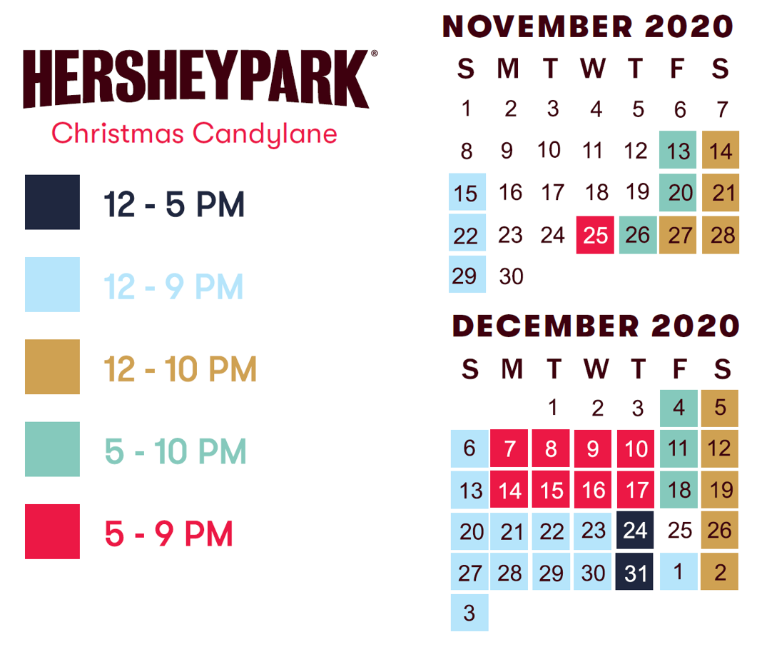 Hersheypark holiday hours
