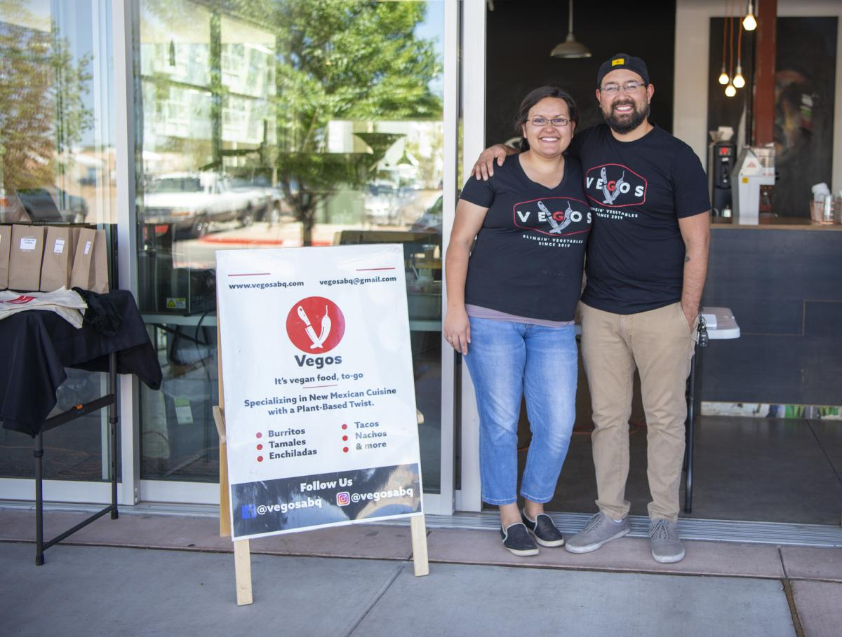 Albuquerque pop-up Vegos garners passionate fans with vegan versions of New Mexico classics, New Mexico Magazine