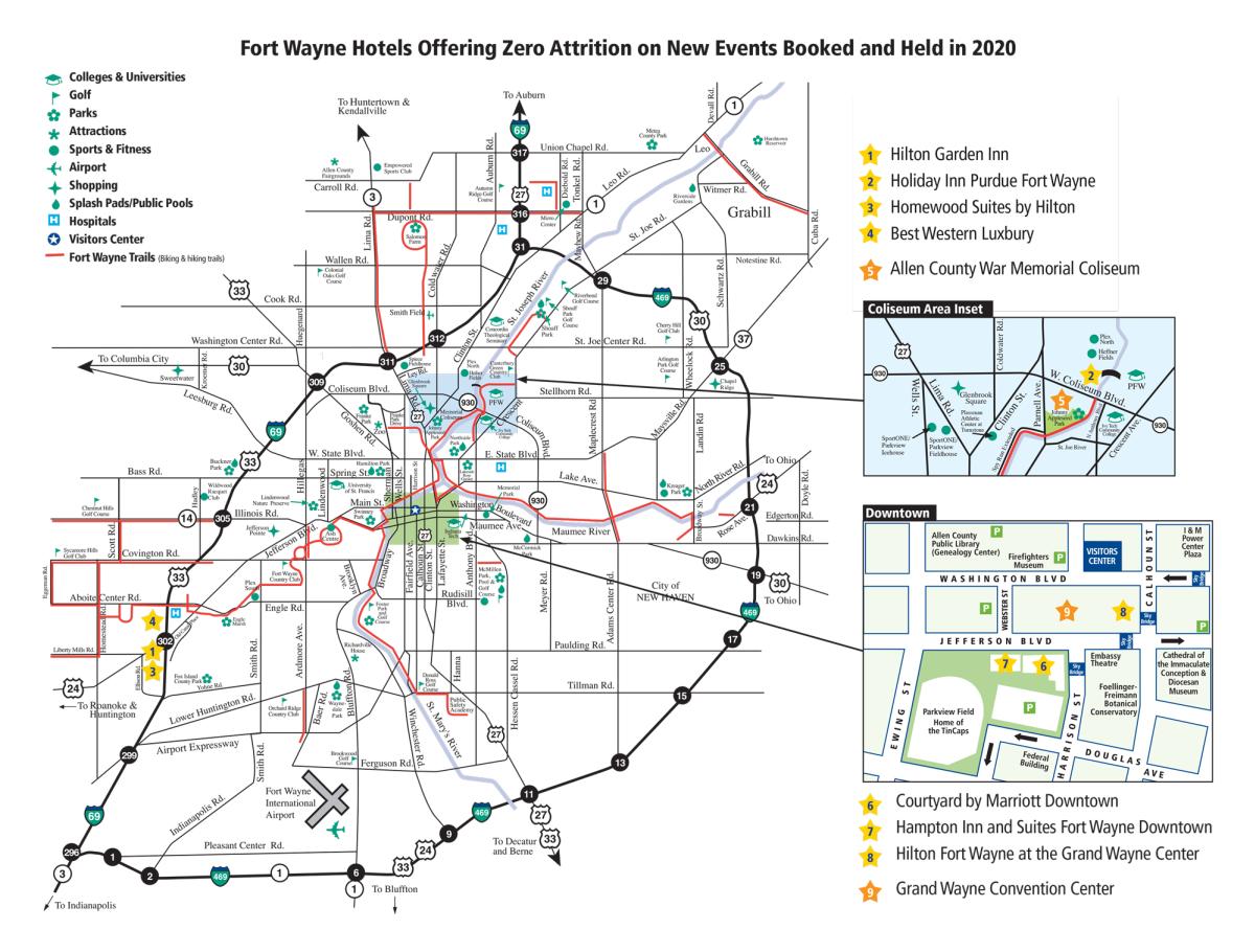Zero Attrition City Map