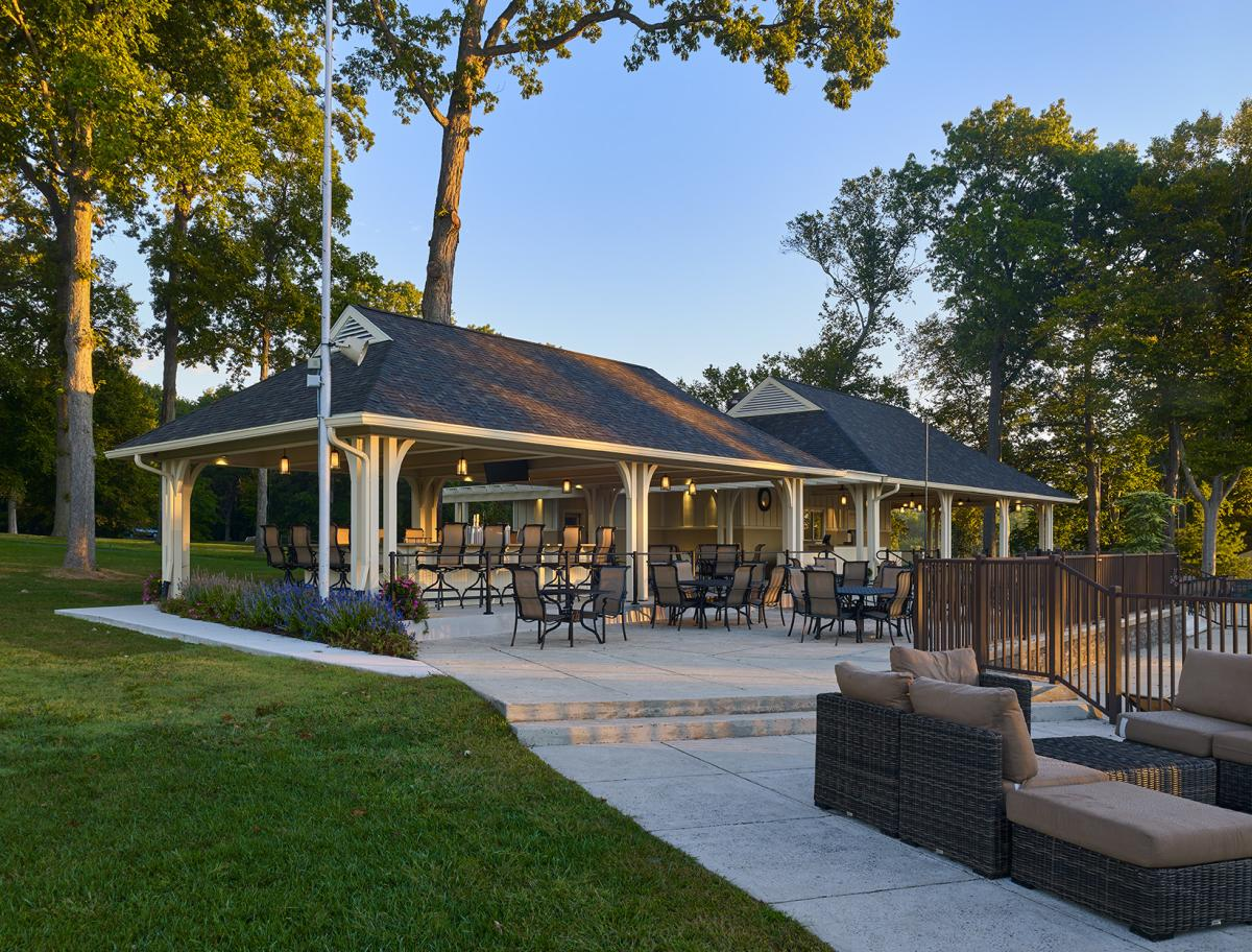 Huntingdon Valley Country Club Pool Pavilion