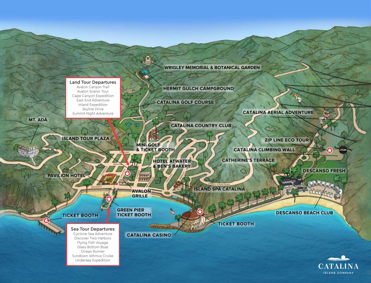 Avalon Map