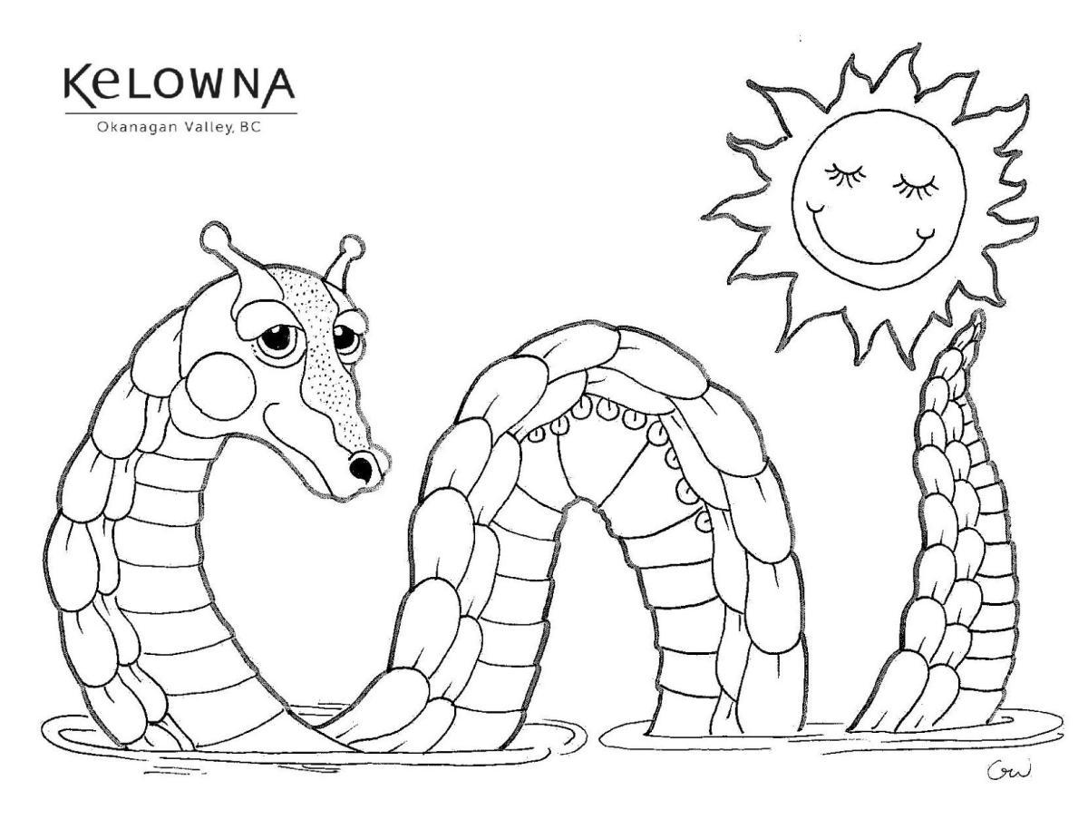 Drawn by local Kelowna Artist, Graham White