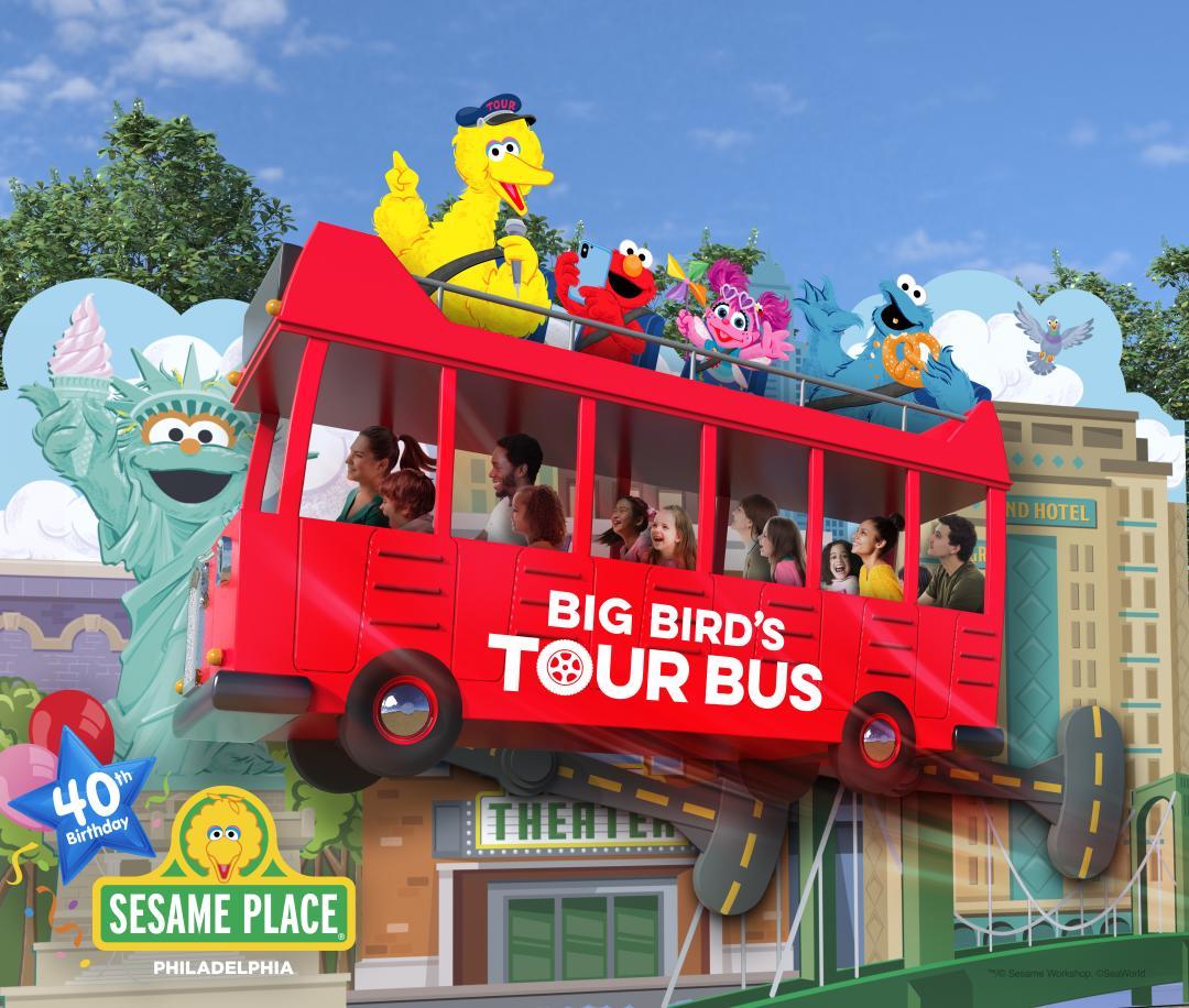 Big Bird's Bus Tour