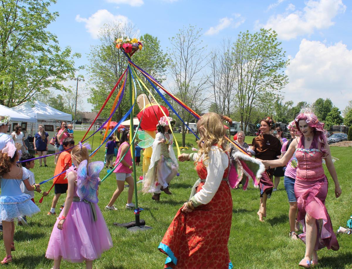 Maypole at Fairy Festival