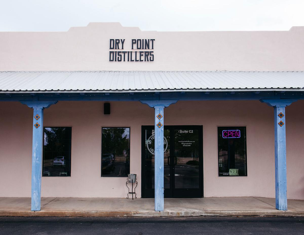 Exterior of Dry Point Distillers