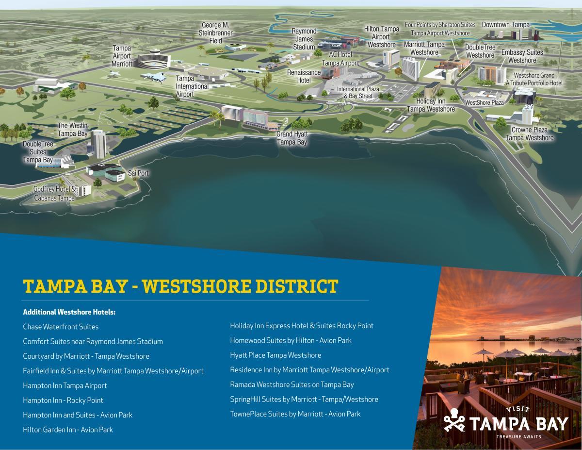 Westshore Map