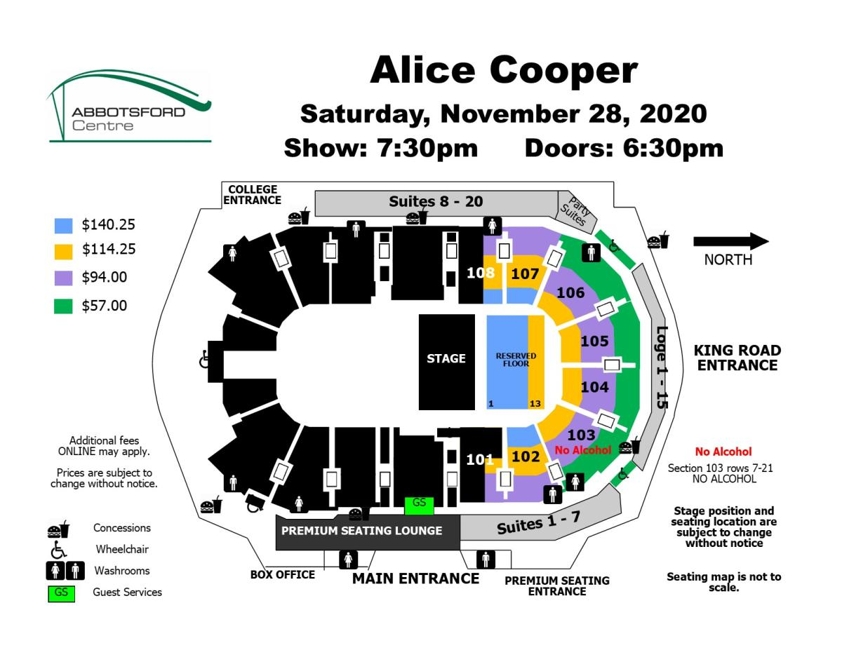 Alice Cooper - Rescheduled