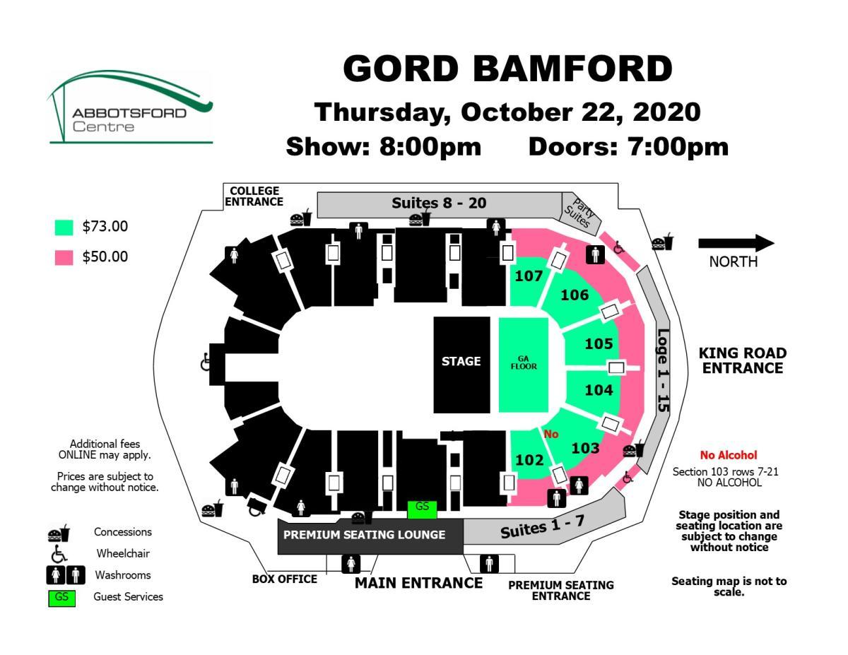 Gord Bamford - New Date