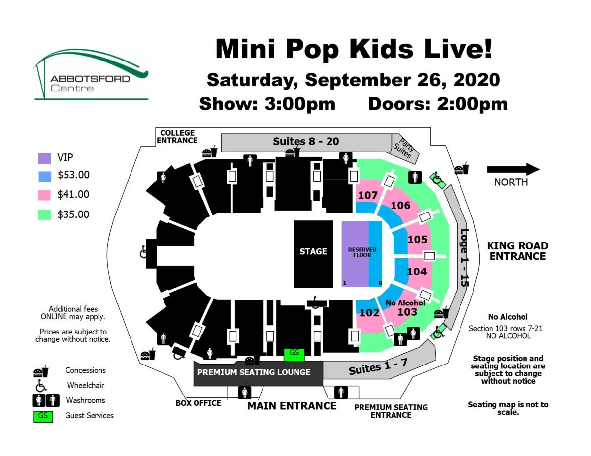 Mini Pop Kids - Rescheduled