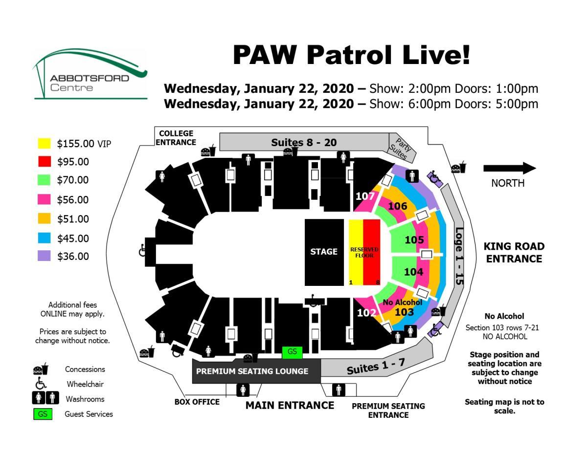 Paw Patrol Live 2020 - NEW