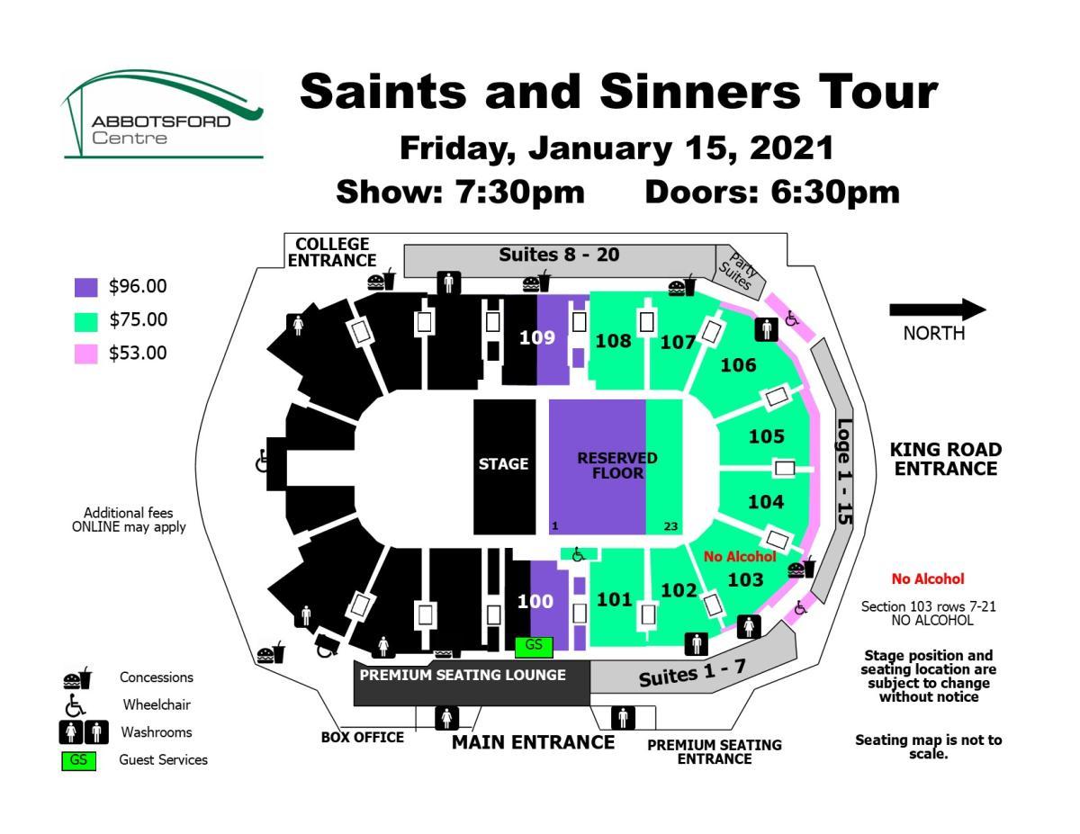 saints & sinners - new
