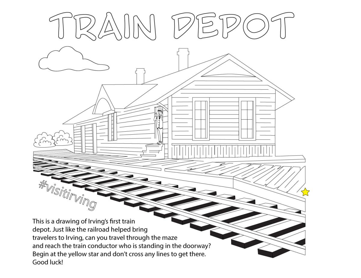 Train Depot Activity Page