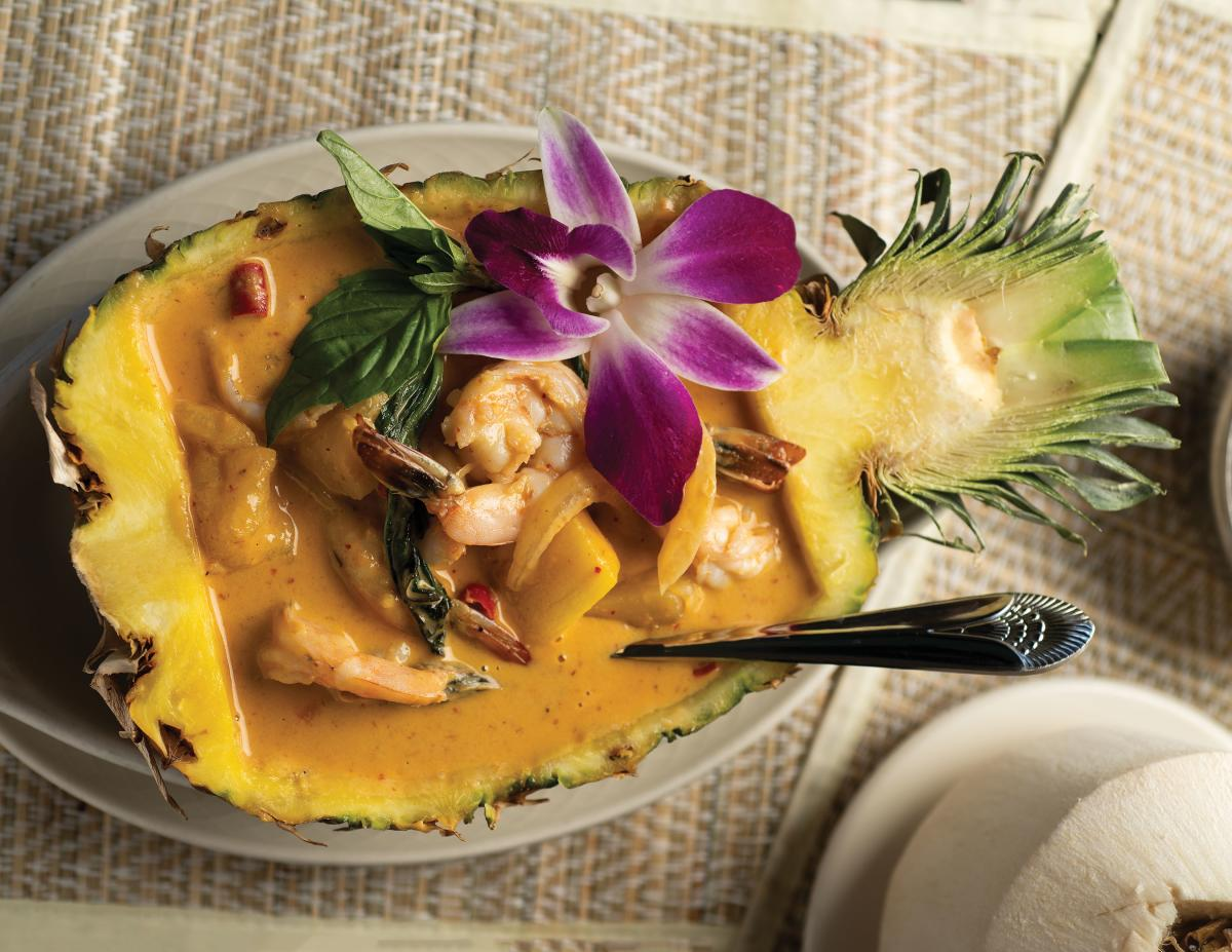 Orchid Thai's Pineapple Curry