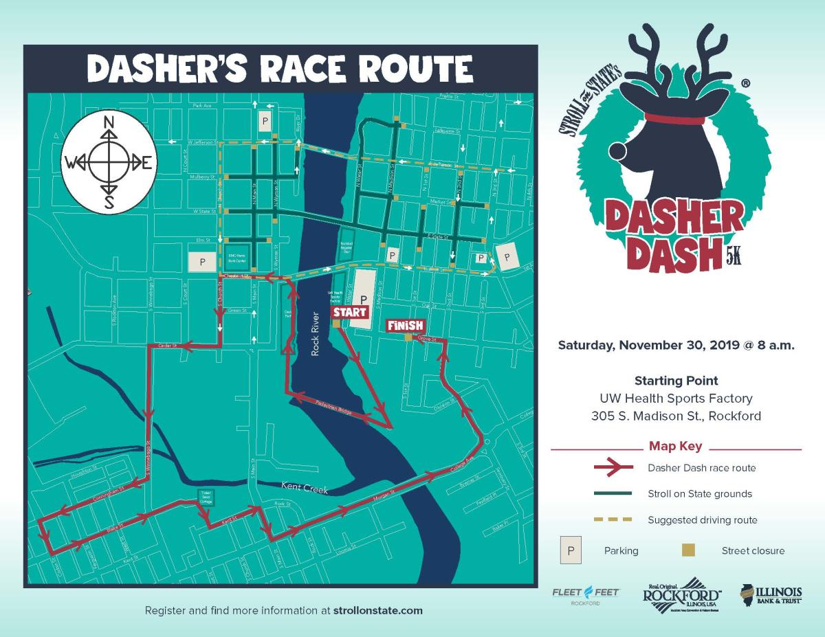 Dasher Dash Map 2019