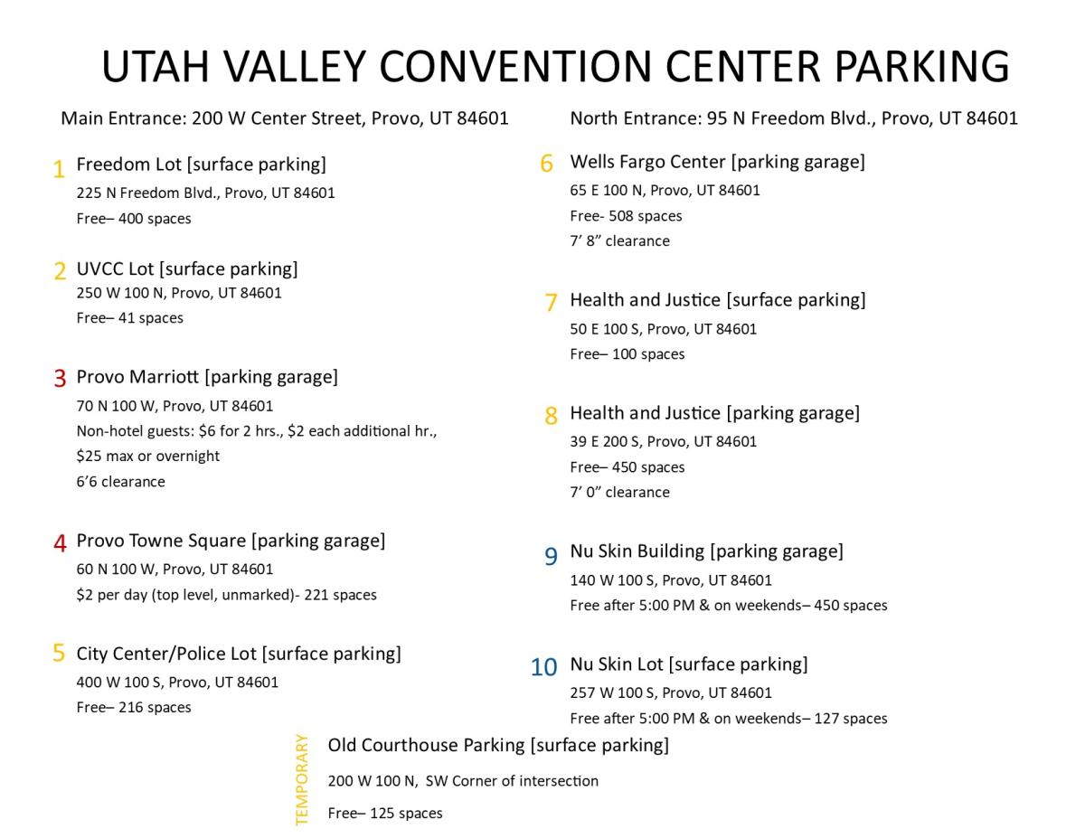 Parking Map Pg. 2