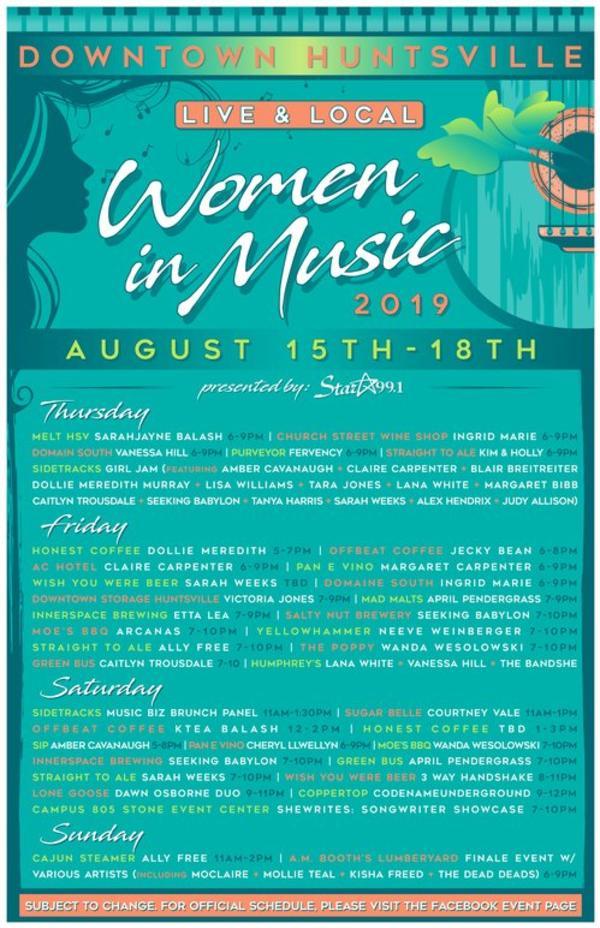 women in music 2019