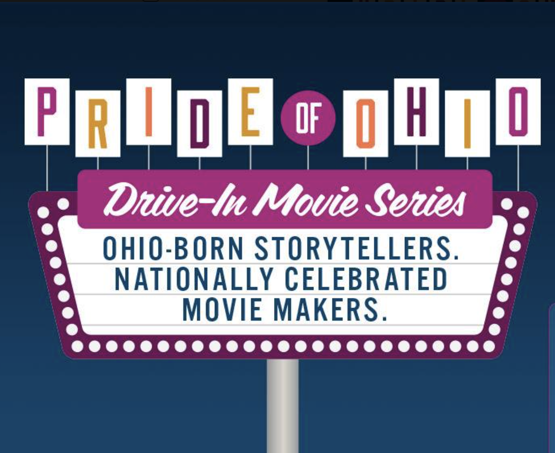 Ohio History Center's Pride of Ohio Drive-in Movie Series Logo