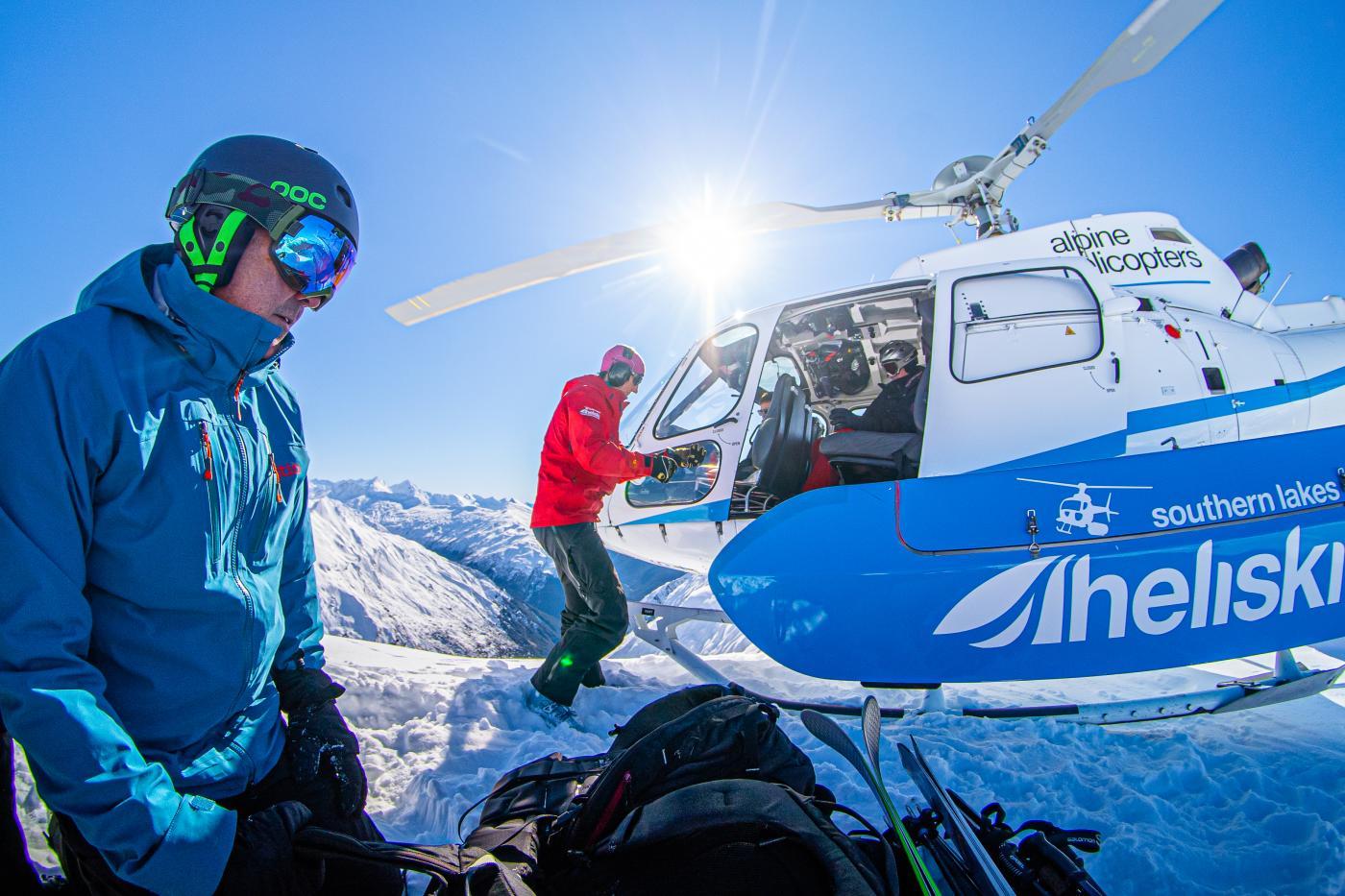 Alpine Heli Ski