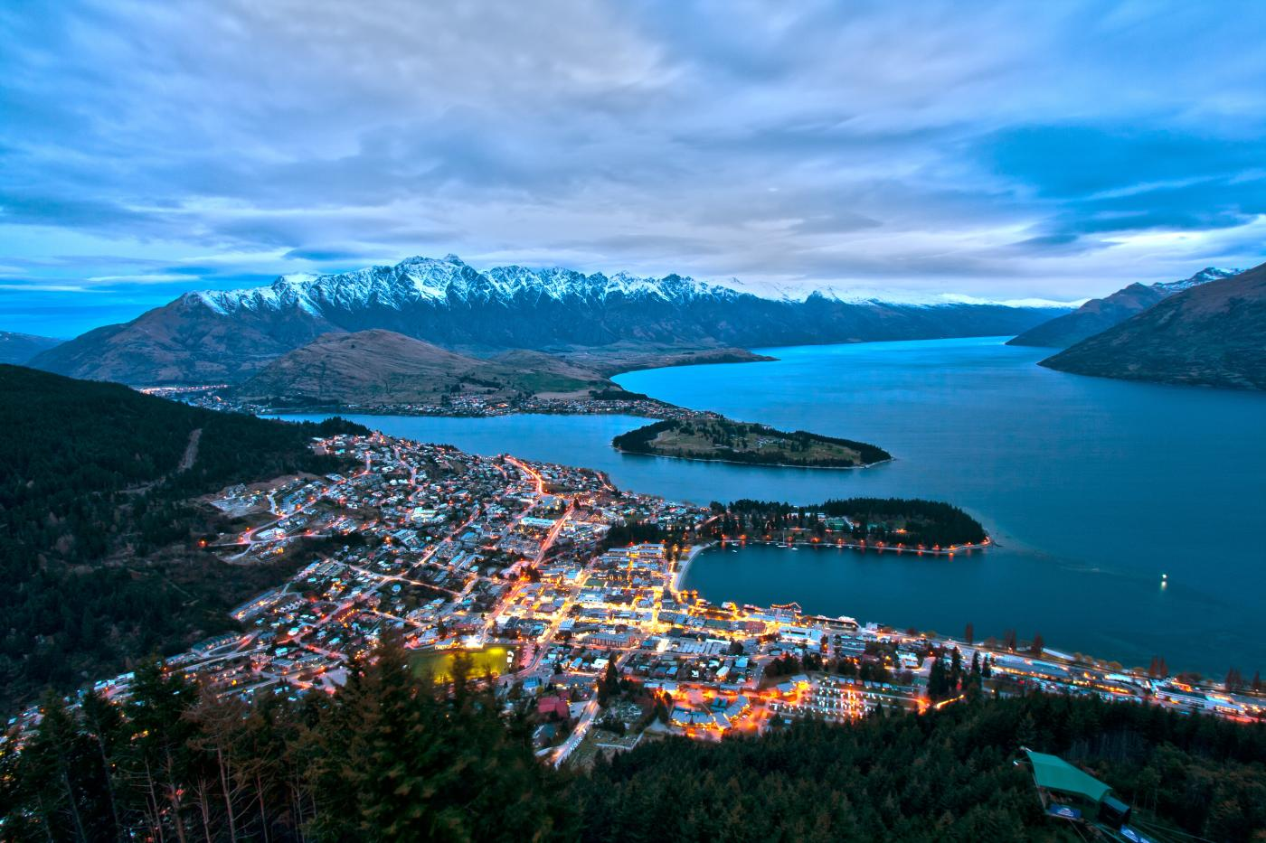 Queenstown from Bobs Peak