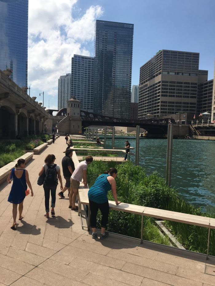 The Jetty at the Chicago Riverwalk