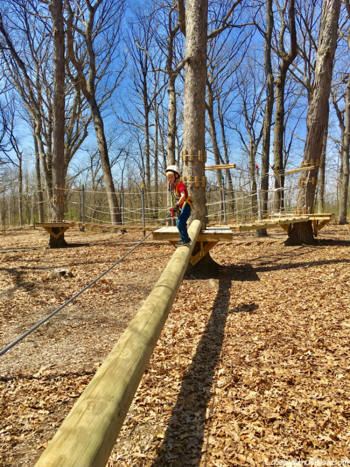 Edge Adventures Deep River kids park