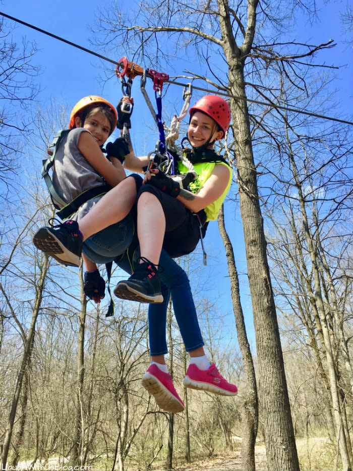 Edge Adventures Deep River zip line